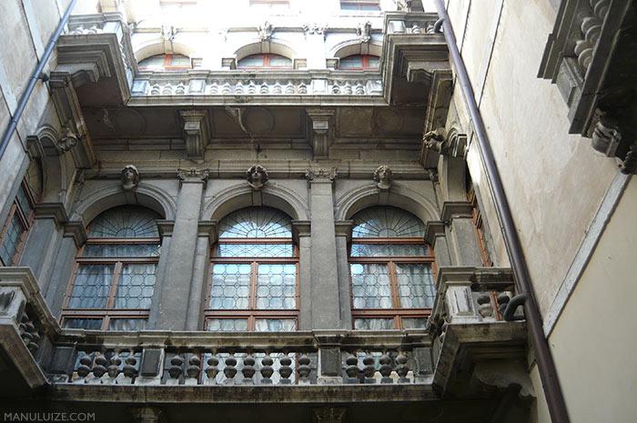Palácio Ca'Rezzonico em Veneza