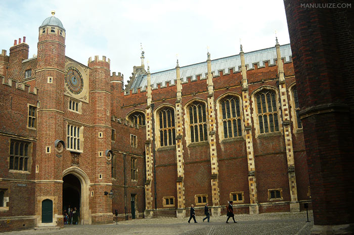 Palácio de Hampton Court na Inglaterra