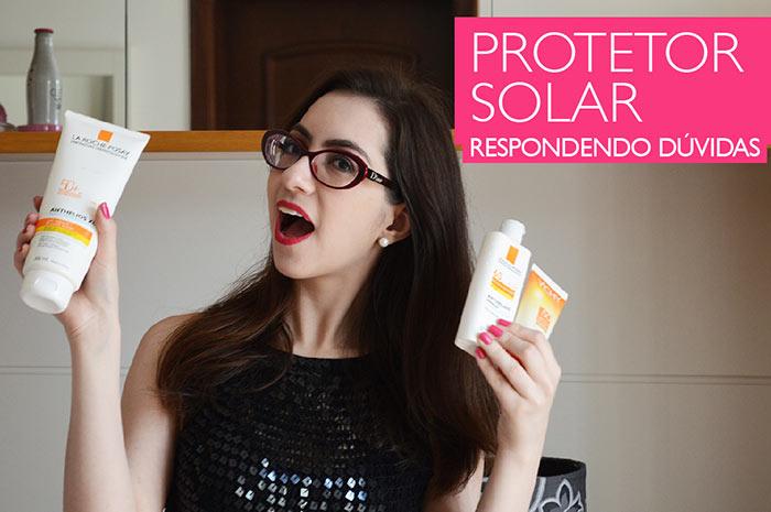 Protetor solar: vídeo sobre as principais dúvidas
