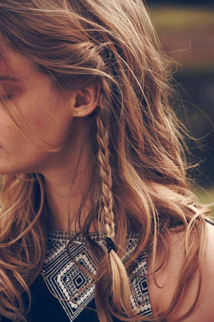Braided Hairstyle for day