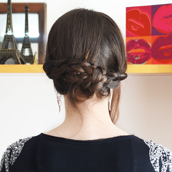 Braided hairstyle Manu Luize
