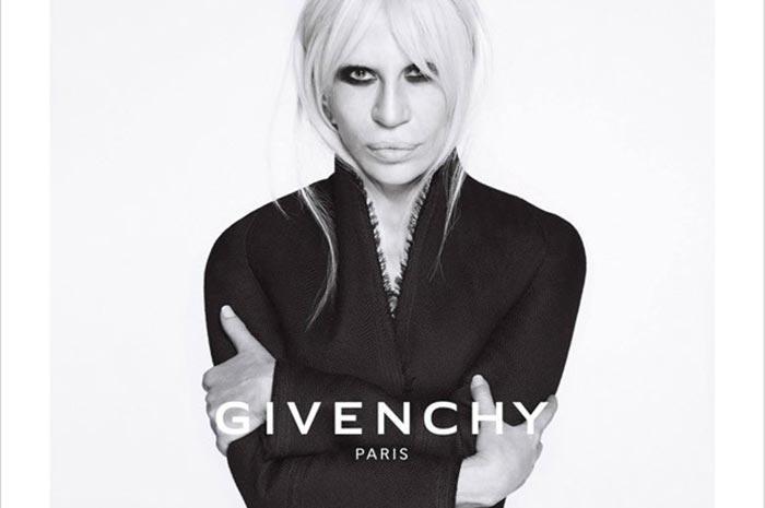 Donatella Versace para Givenchy