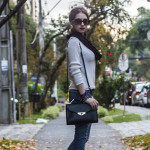 Calça jeans destroyed e tricô: Look do dia