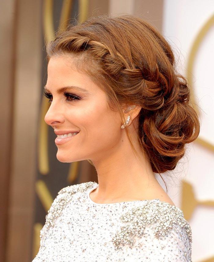 Maria Menounos - penteado no Oscar