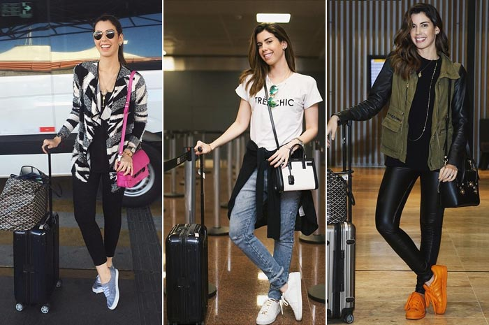 Looks de aeroporto - Camila Coutinho