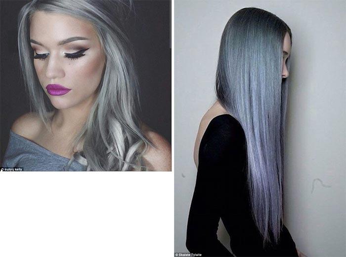 Looks com cabelo cinza