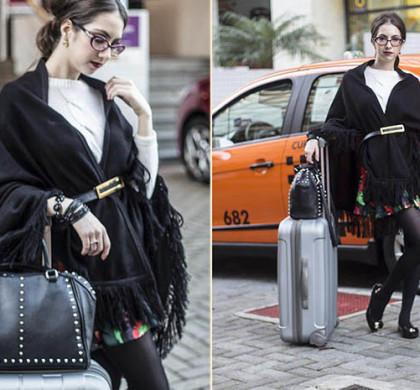 Look para viajar (airport style)