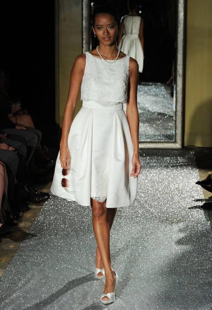 Vestido curto - Oleg Cassini
