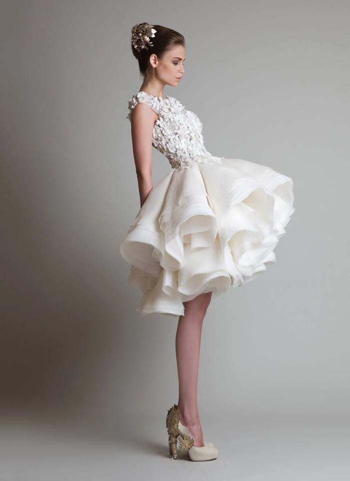 Vestido de noiva dramático