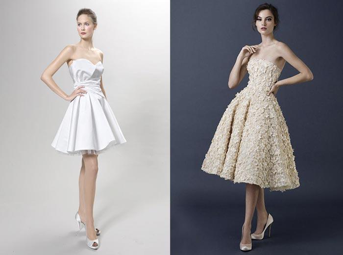Vestidos de noiva curtos - TQC