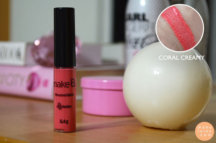 Coral Creamy - Make B. O Boticário