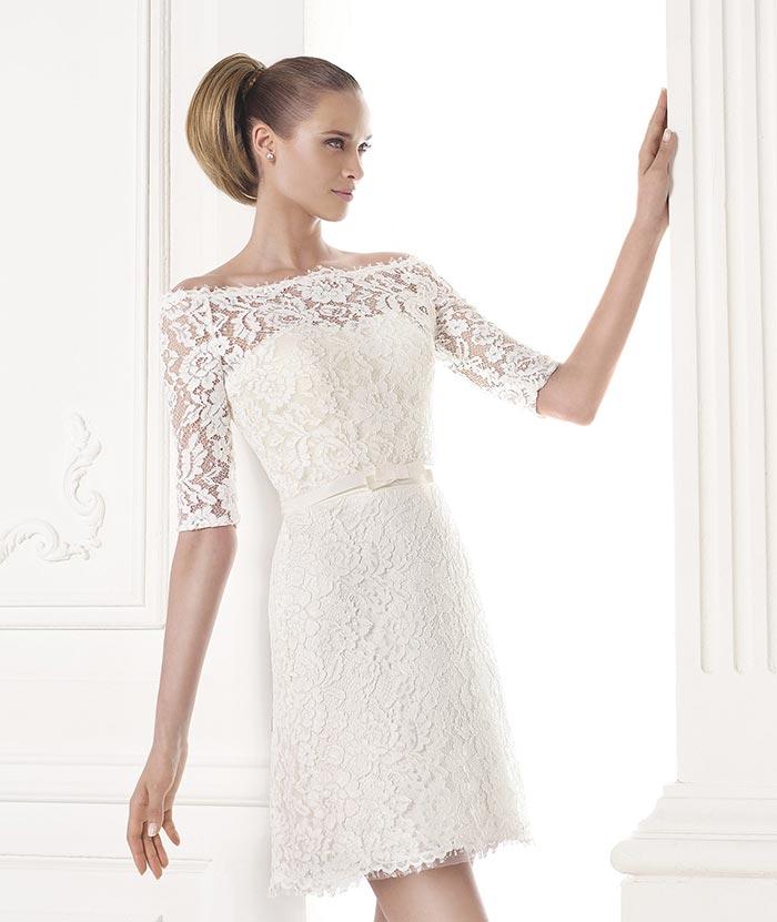 Decote ombro a ombro - vestido de noiva
