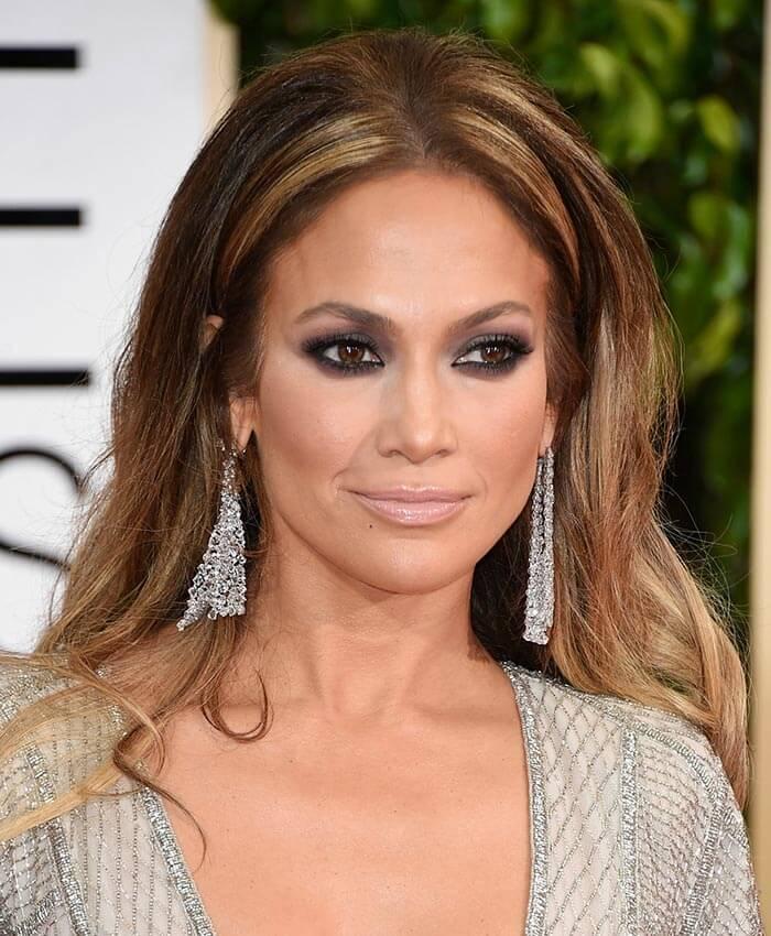 Maquiagem para festas Jennifer Lopez