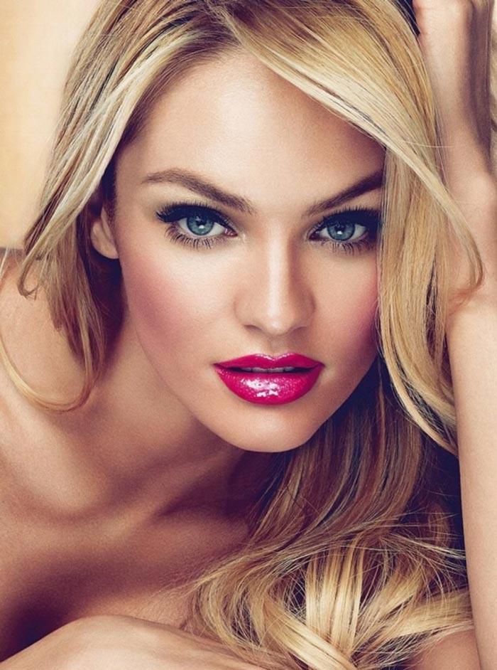 Maquiagem para formatura - batom vermelho