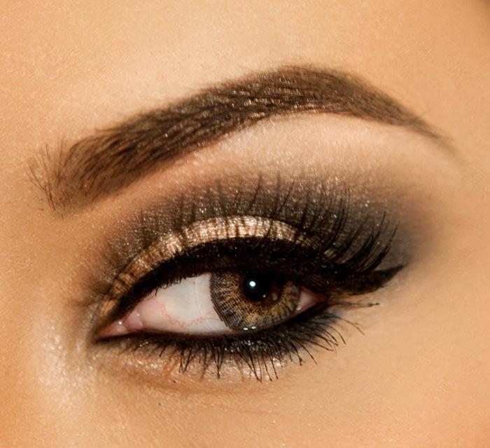maquiagem para Formatura nos olhos