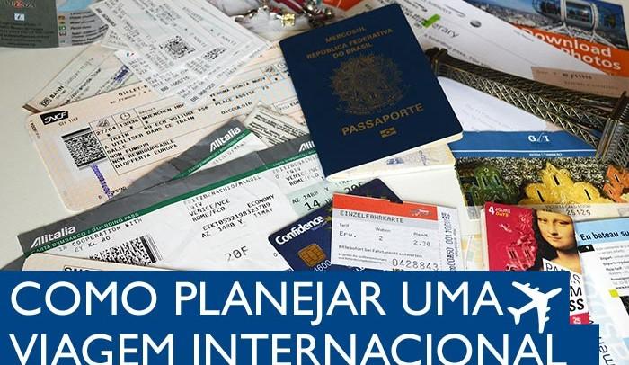 10 Dicas para planejar uma viagem internacional