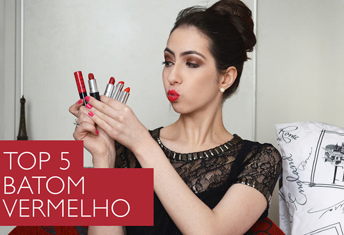 Batom Vermelho: TOP 5 batons