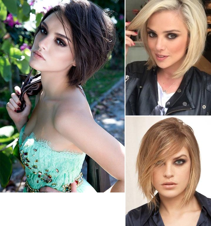 Cortes de cabelo chanel curto