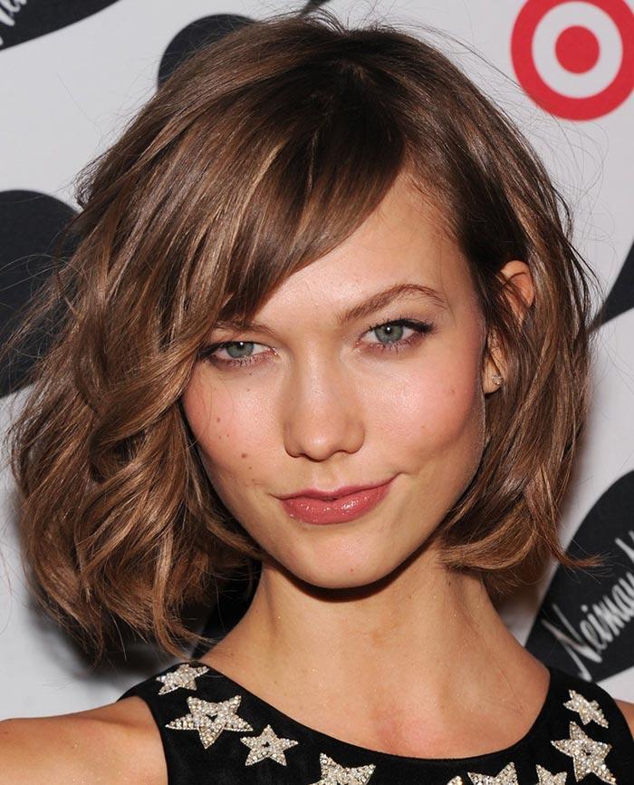 Corte de cabelo bob - Karlie Kloss