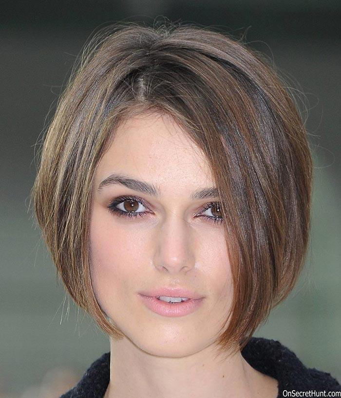 Причёски без челки