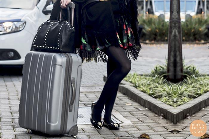 Como arrumar mala de viagem