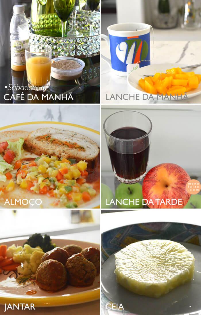 Dieta Detox: Cardápio de refeições