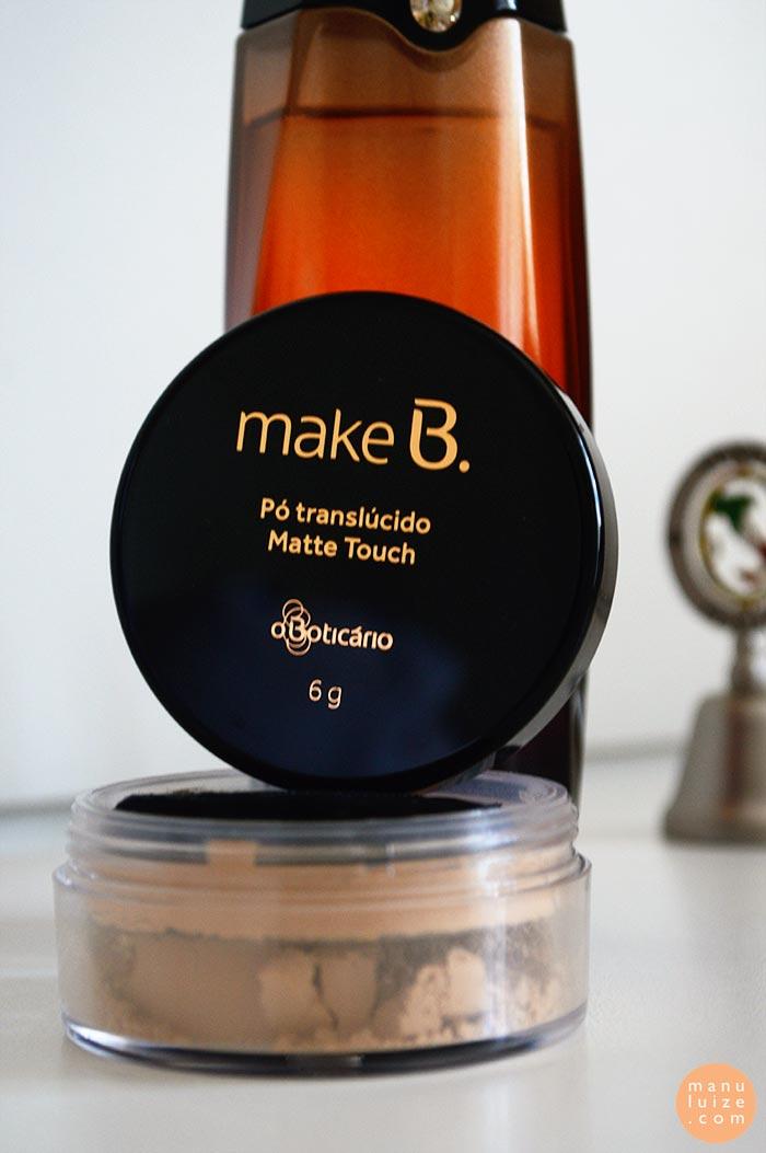 Make B. Pó Translúcido Matte Touch
