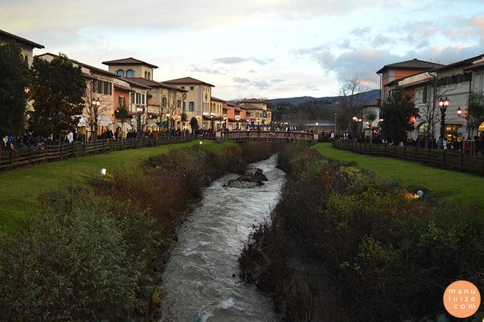 Outlet em Firenze na Itália / Florença
