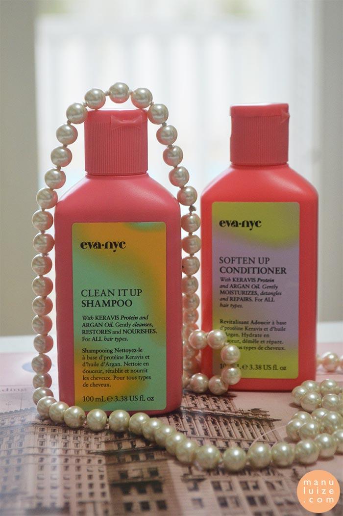 Eva NYC: Shampoo e Condicionador