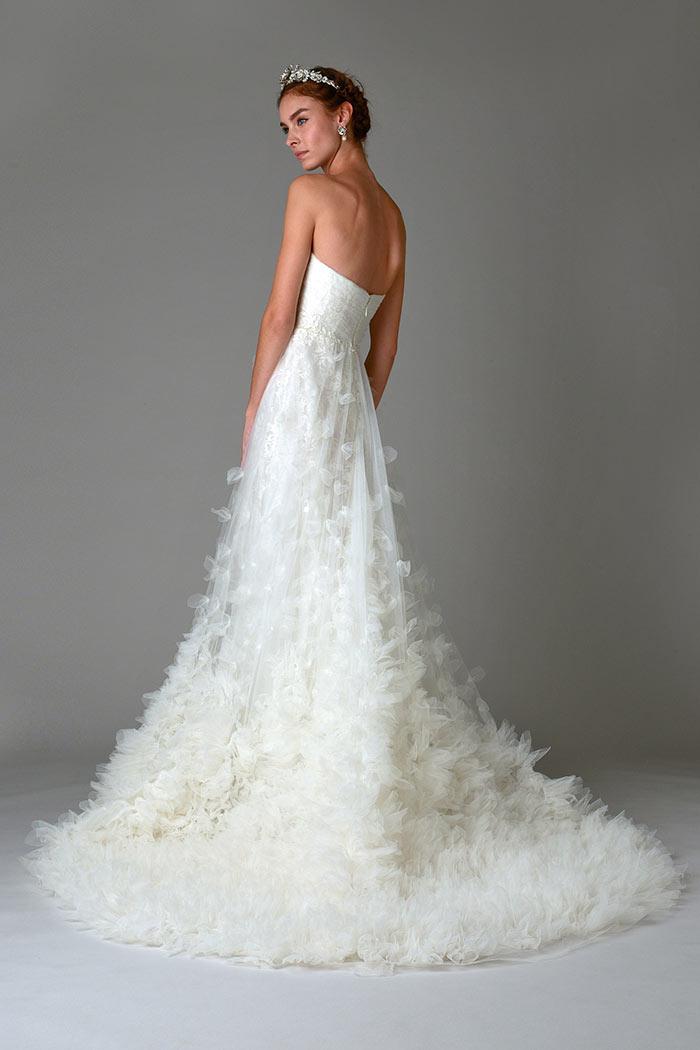 Marchesa bridal 2016 de costas