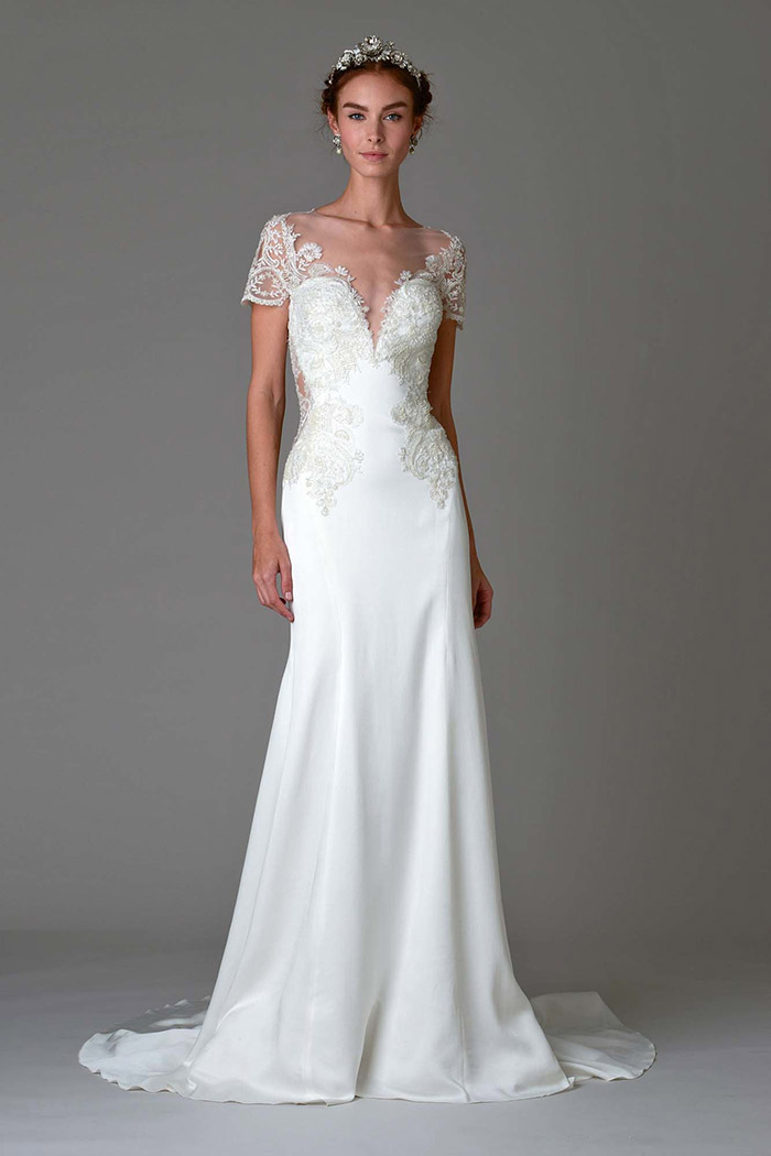 Vestido de noiva bordado - Marchesa