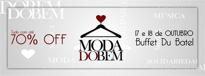 Bazar Moda do Bem - 17 e 18 de outubro 2015