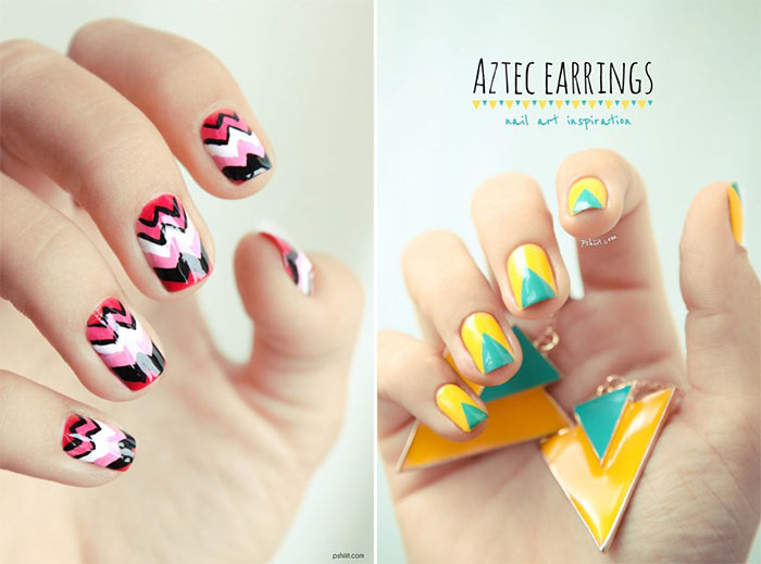 Unhas decoradas estampas