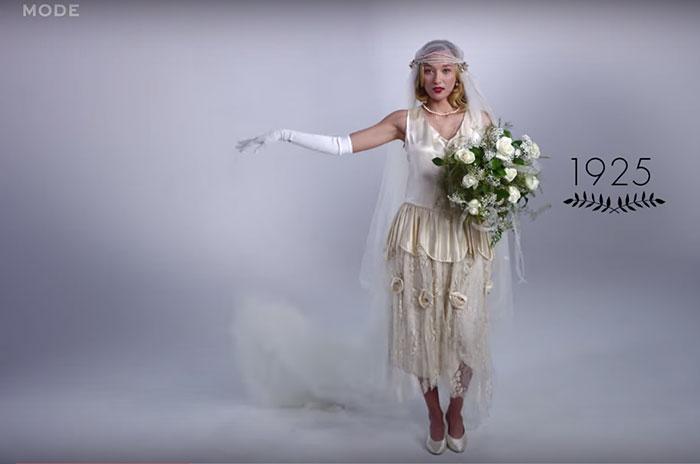 Vestido de noiva dos anos 20