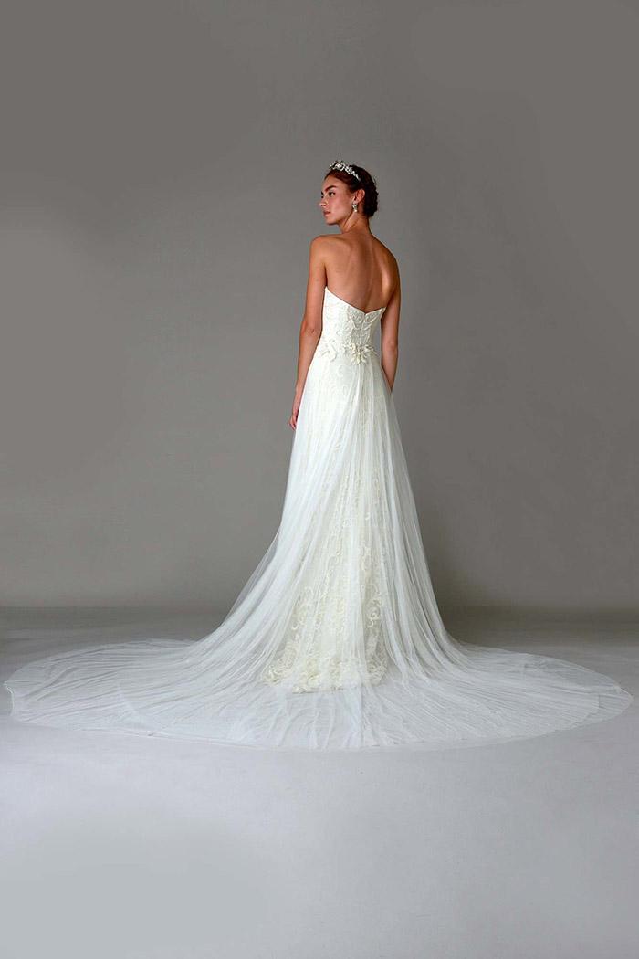 Vestido de noiva com cauda - Marchesa