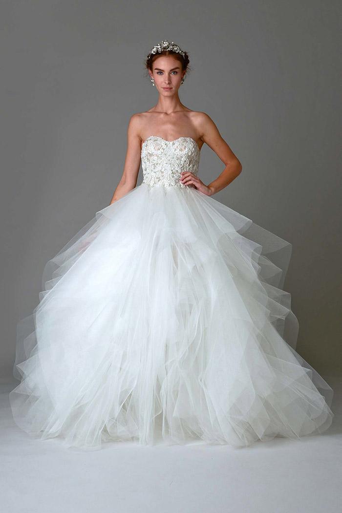 Vestido de Noiva - Marchesa Bridal Fall 2016