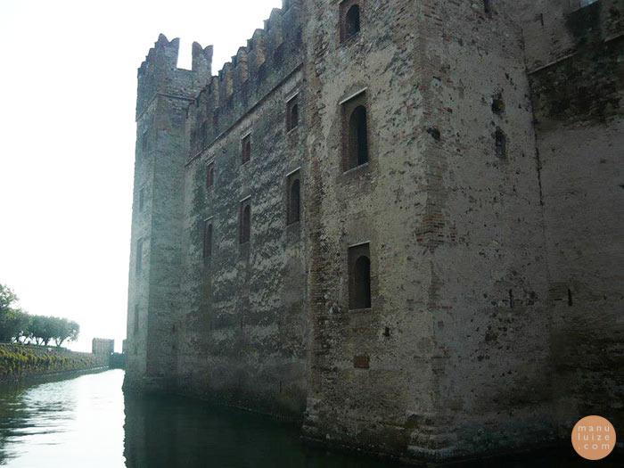 Castelo Rocca Scaligero no Lago di Garda