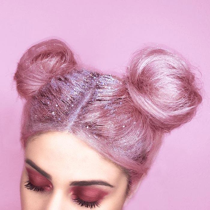 Glitter hair - cabelo