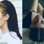 Glitter hair: 15 fotos e DIY do cabelo