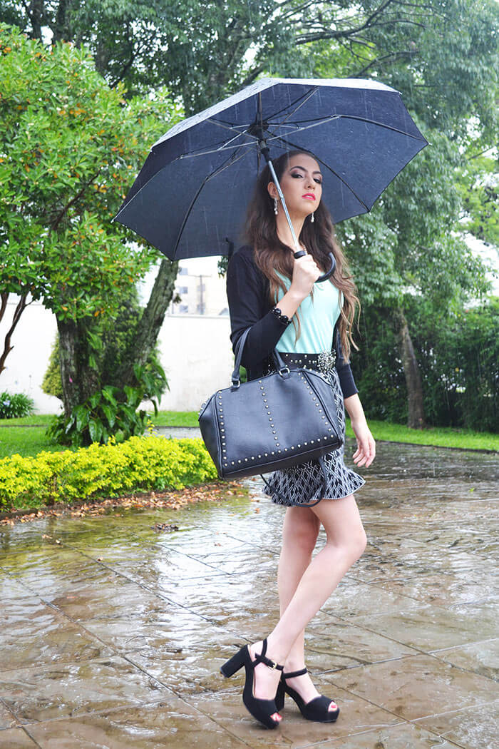 Look do dia na chuva