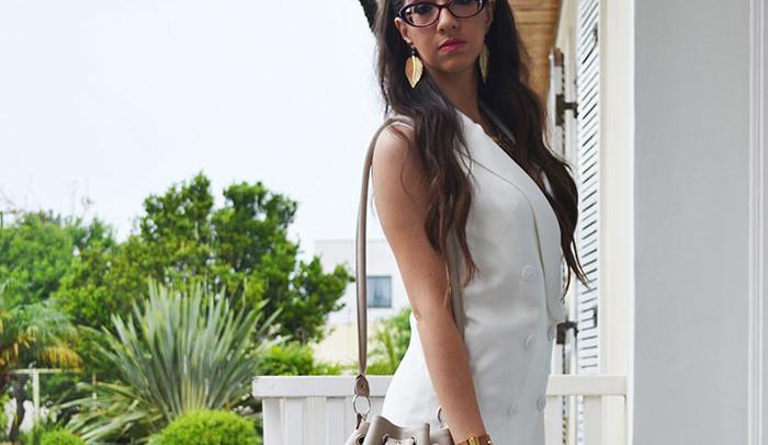Vestido branco, look para dia a dia