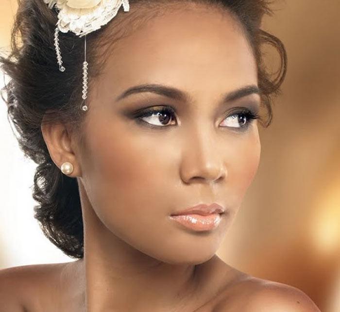Maquiagem para noivas com pele negra