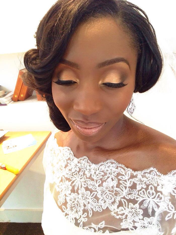 Maquiagem para noivas morenas e negras