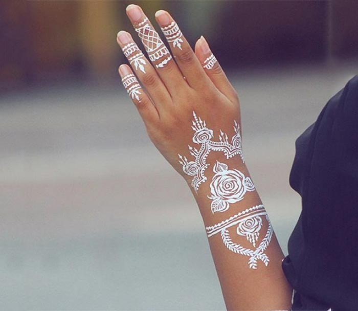Tatuagem branca - tattoo