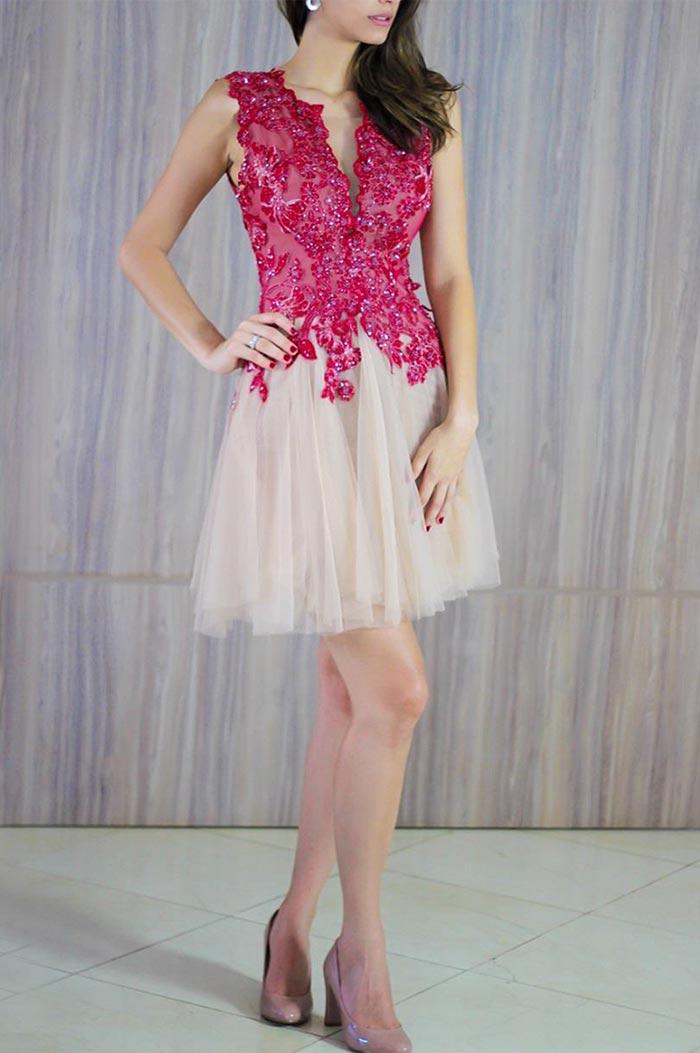 Fotos de vestidos de festa curtos para jovens