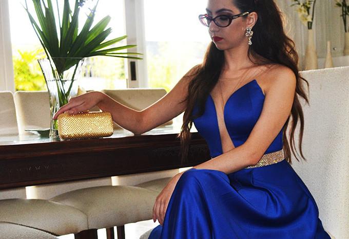 Vestido de festa longo: meu look
