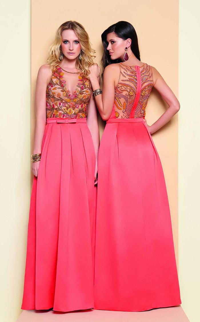 Vestidos de festa bordado