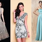Vestidos de festa: 7 tendências
