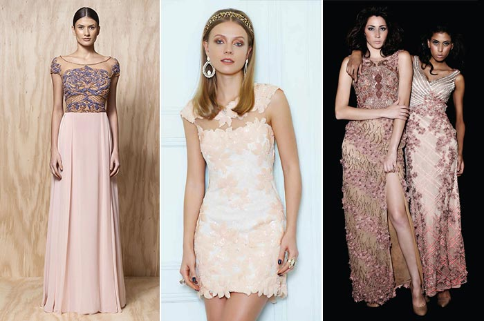 Vestidos de festa rosa
