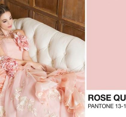 Vestidos de noiva: Rosa Quartzo